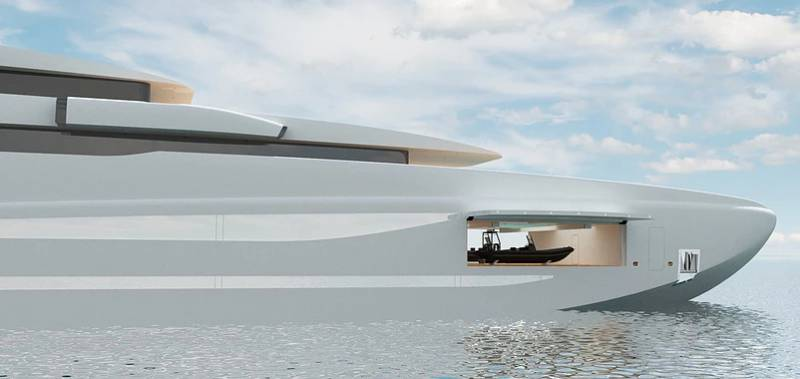 90-meter superyacht Project #6 by YXXI Yacht Design