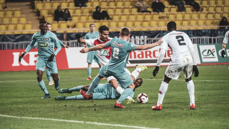 AS Monaco is eliminated from the Coupe de France defeated by FC Metz