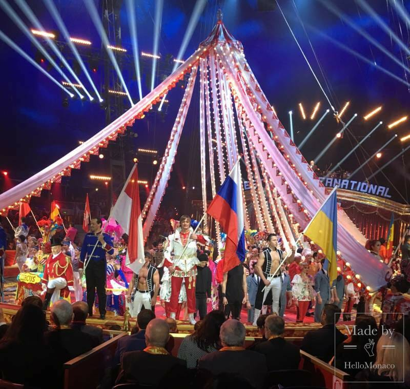 Opening performance of the 43rd International Circus Festival of Monte Carlo makes your heart beat faster