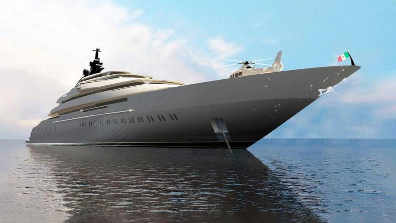 125-meter superyacht Project Gaja sold