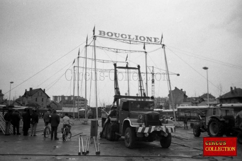 Cirque Bouglione 1973