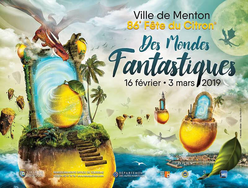 86th Lemon Festival in Menton