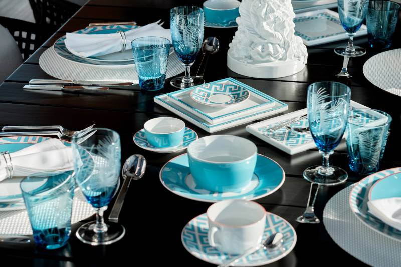 MEISSEN for Dynamiq- German cra ... alian boutique yacht brand