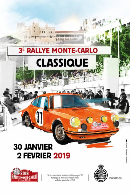 3rd Monte-Carlo Classic Rally
