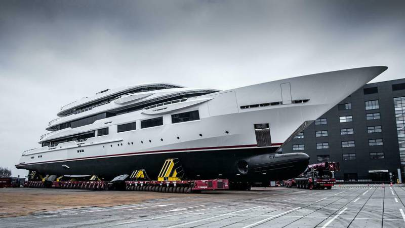 First glimpse at Oceanco's new 90m superyacht project Y716