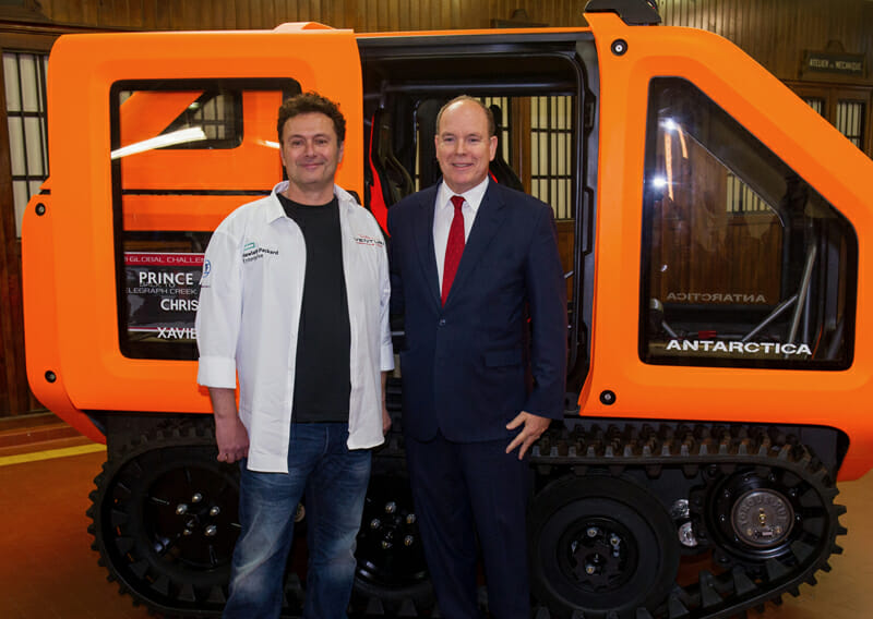 Prince Albert at the Controls: Zero Emissions «Antarctica»