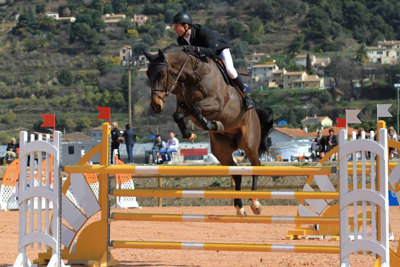 The Infinite Charm of Horse Riding on the Riviera