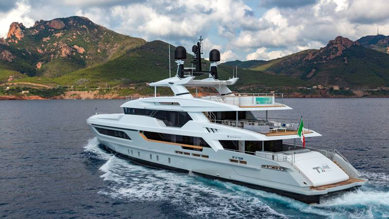 Baglietto presents 48m Silver Fox