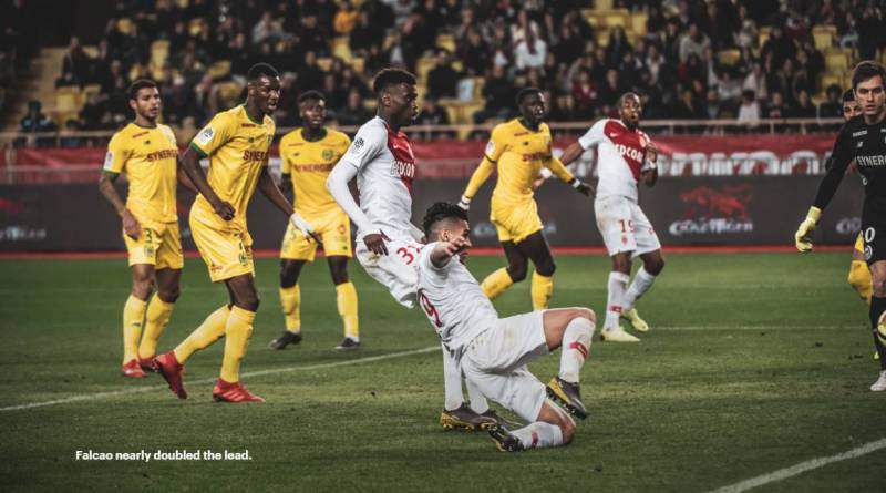 A valuable victory for the AS Monaco against Nantes 1-0
