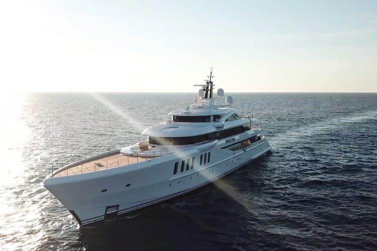 69-metre Benetti superyacht Spectre sold