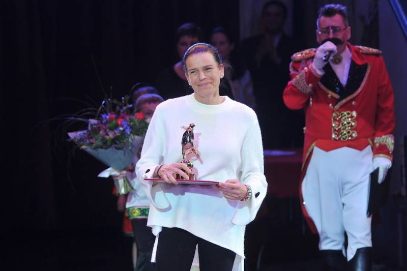 Princess Stephanie attends Circus Festival in Russia