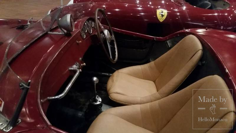 A dreaming Ferrari red carpet at Princely Top Car Collection
