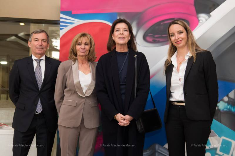 Princess Caroline attends Nursing Education Institute's 90th Anniversary