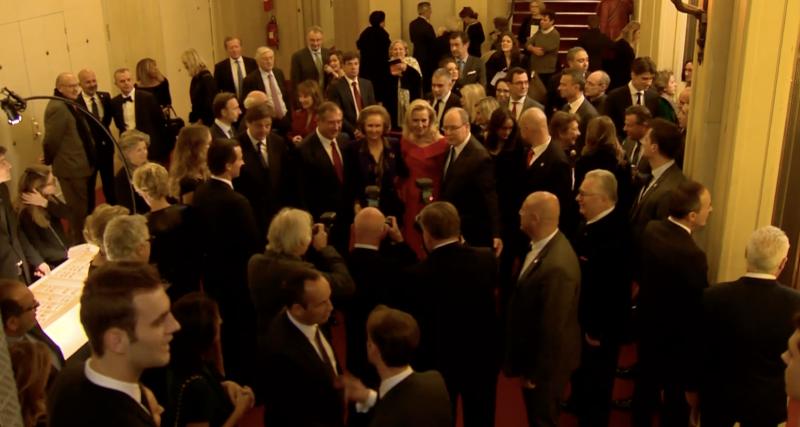 Gala in Paris for Prince Albert II Foundation