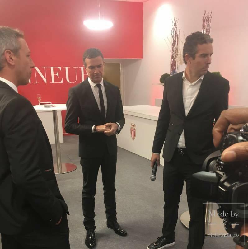 AS Monaco Vice President Oleg Petrov