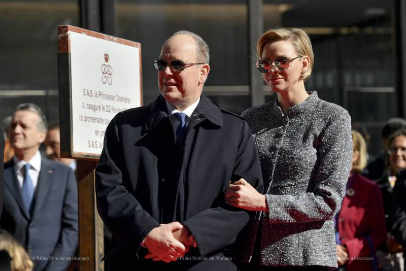 Princely Family inaugurates One Monte-Carlo Complex and Princess Charlene Walk