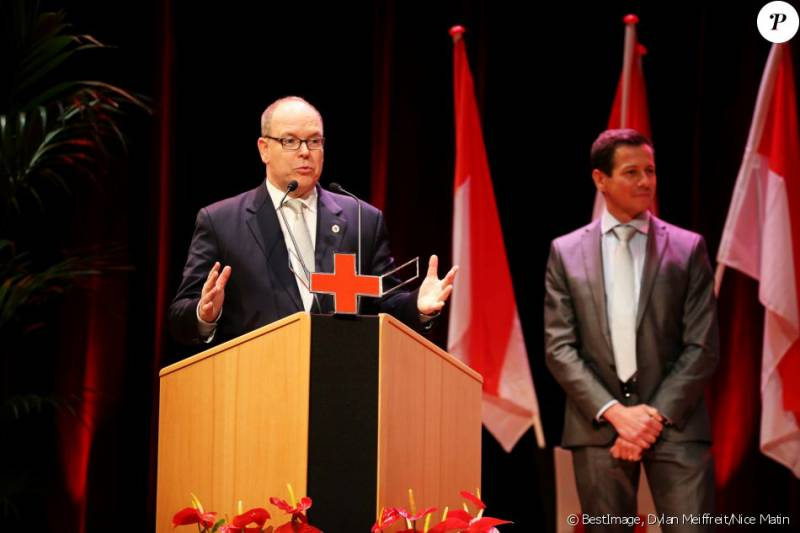 Prince Albert and Beatrice Borromeo attend Red Cross Graduation Ceremony