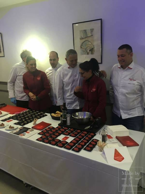 Celebrity Chefs with Monaco's Mayor Savour the finest ingredients from Marche de la Condamine