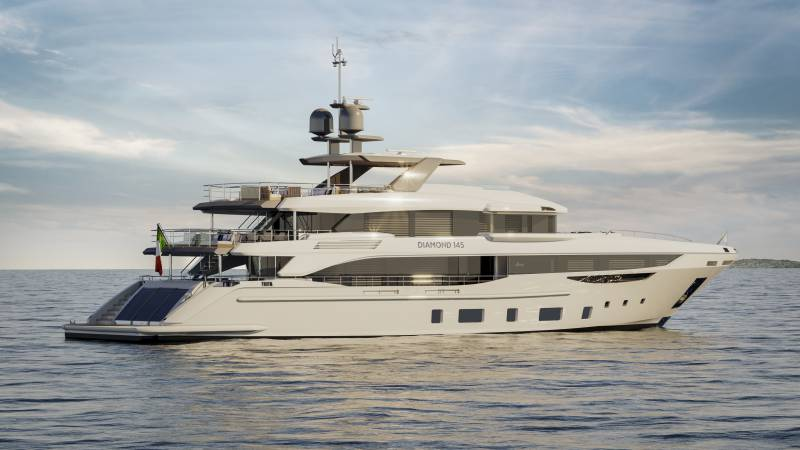 Benetti sold their first Diamond 145