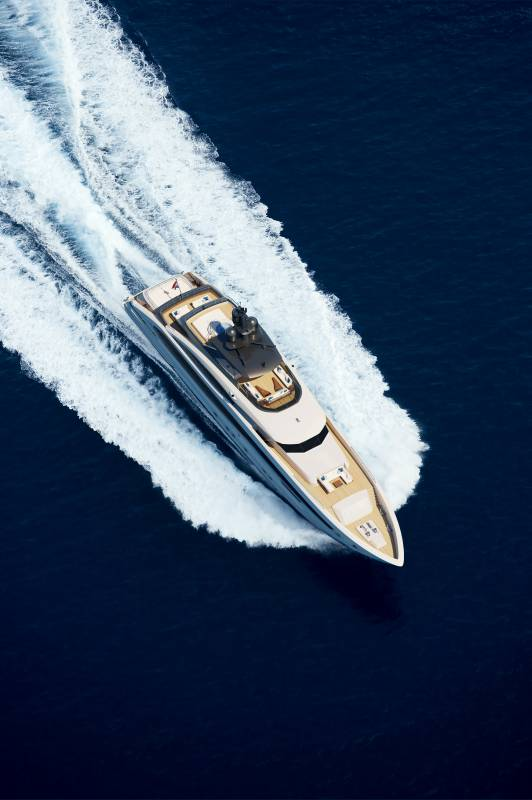 Heesen presents Project Aquamarine in the new 5000 Aluminium Class