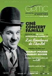 Cine Concert with screening of the silent films by Charles Chaplin