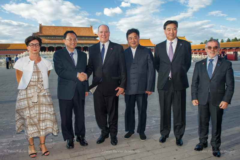Prince Albert To Greet China's President