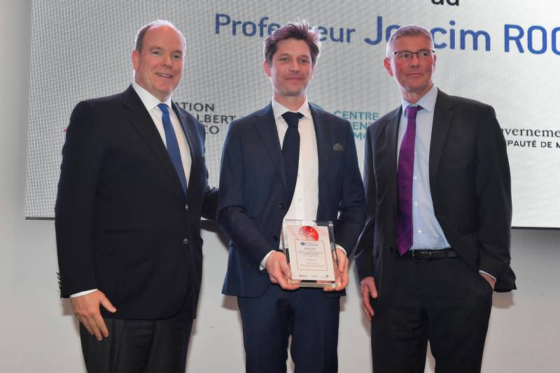 Prince Albert II Pasteur Institute Prize awarded to Professor Joacim Rocklöv