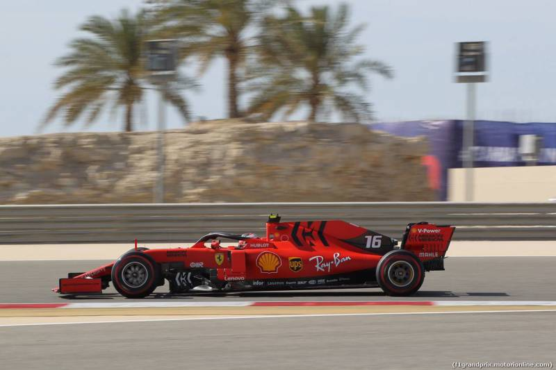 Formula 1 Grand Prix - Charles LeClerc Eclipses Vettel For Pole Position in Bahrain