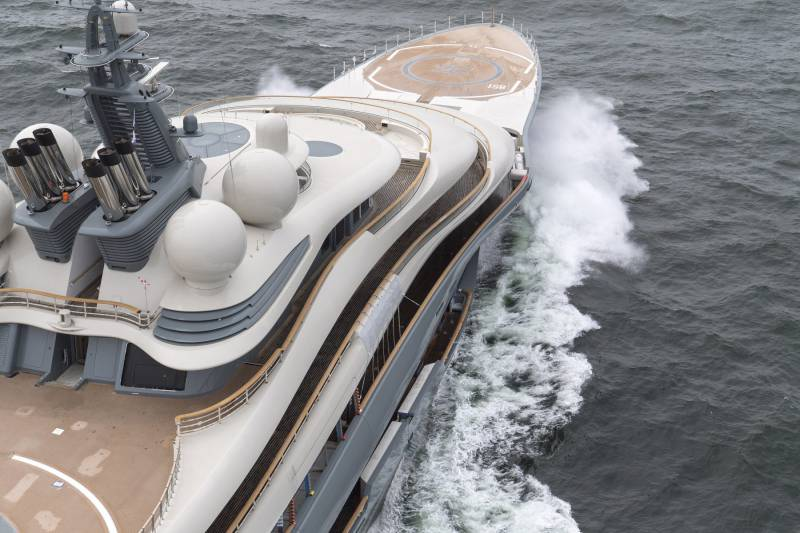 Lurssen delivers 136m superyacht Flying Fox for serial owner