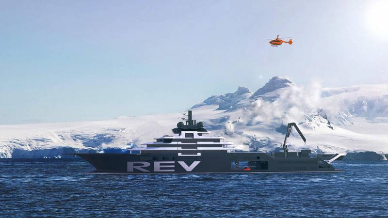 REV The biggest explorer superyacht in the world taking shape in Romania