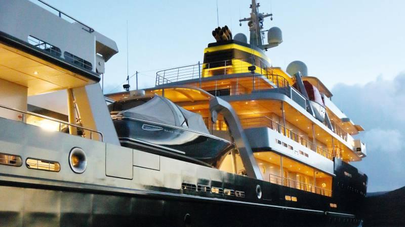 REV The biggest explorer superyacht in the world taking shape in Romania