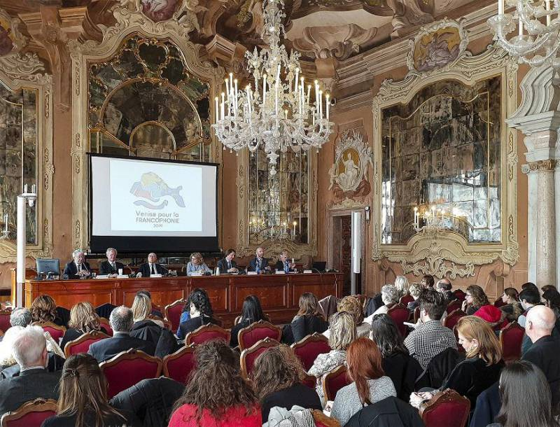 Monaco took a part in presentation of the French-speaking world in Venise, Italy