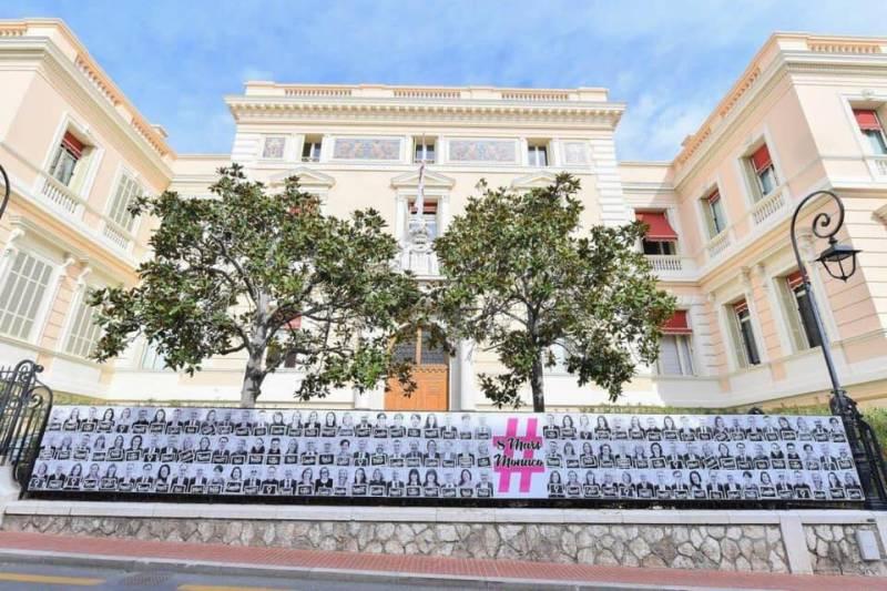 Street Art in Monaco Celebrates Women's Day