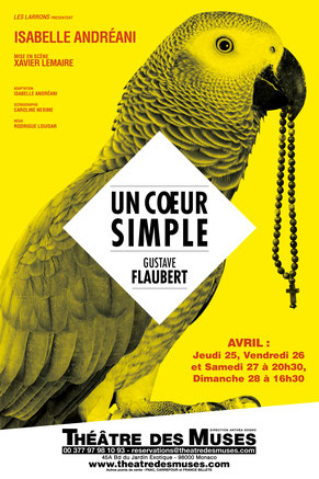 """Un coeur simple"" (""A Simple Heart""), a classic monologue by Gustave Flaubert"