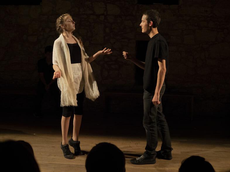 "Comedy: ""Un pour tous, tous pour Cyrano"" (""One for All, All for Cyrano"")"