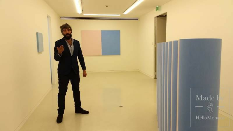 The NMNMonaco opens to Ettore Spalletti's chromatic art