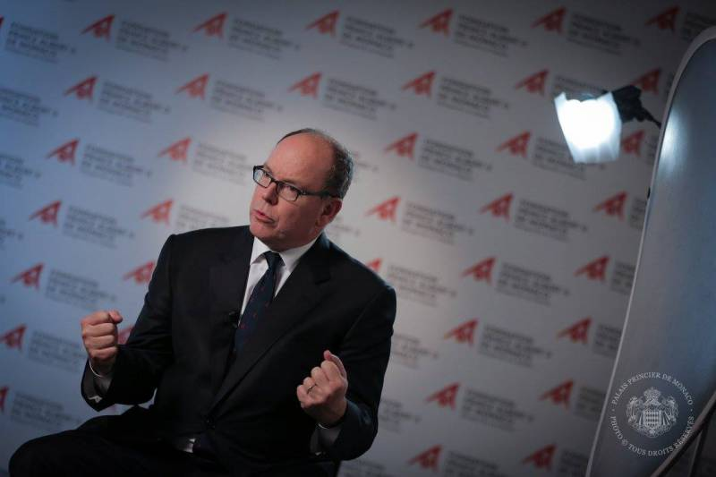Prince Albert Expresses Sorrow and Solidarity with France for a Renaissance at Notre Dame