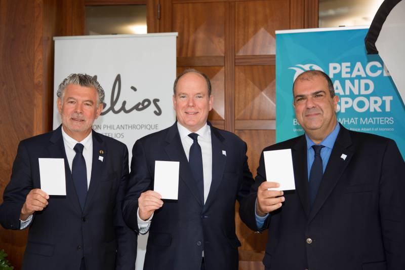 Stelios Philanthropic Foundation & Peace and Sport promoting sport for dialogue