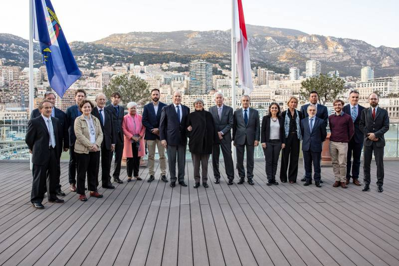 Prince Albert attends Scientific Workshop on Ocean Pollution