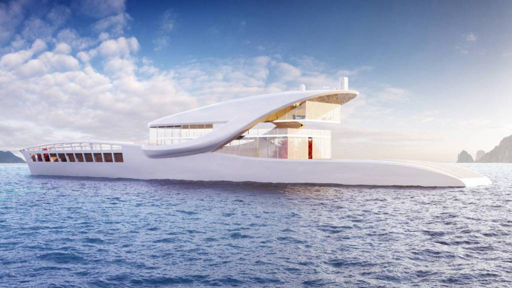Hop The Megayacht Concept That Dreams To Crossing The World