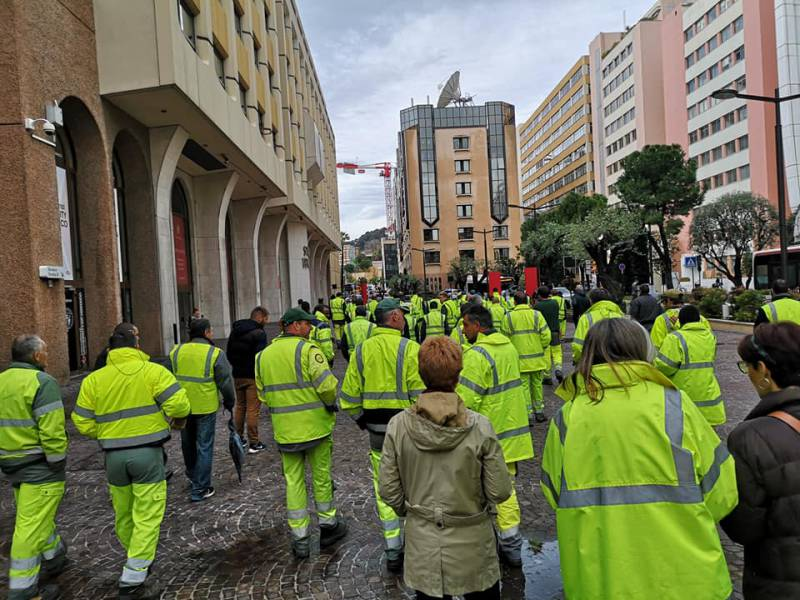 City workers strike Monaco
