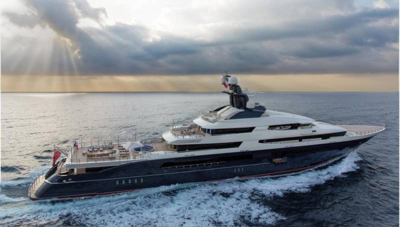 Sold for $126 million- superyacht Equanimity