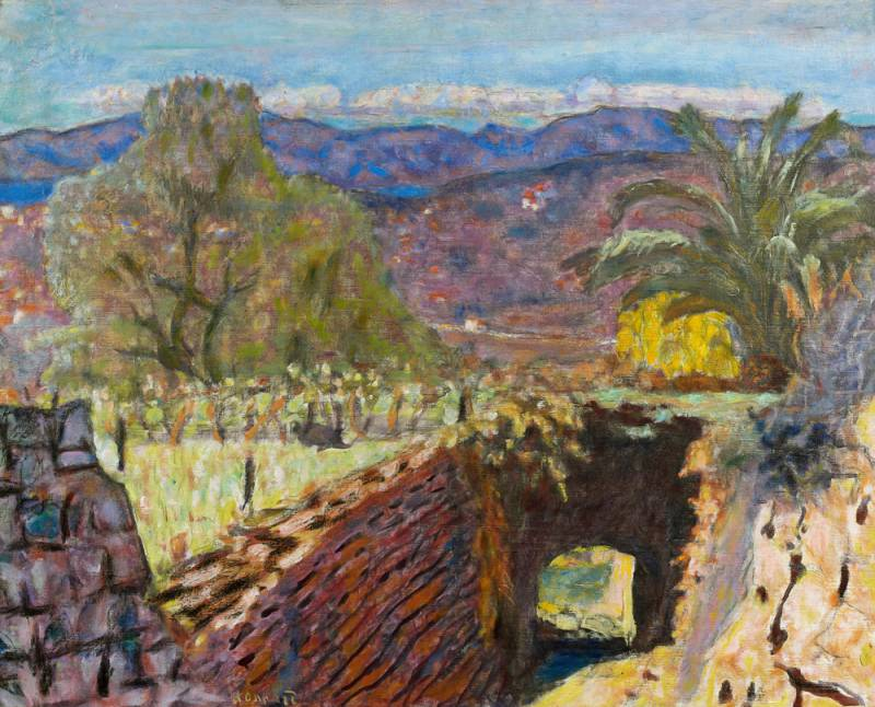 Bonnard in black and colour at Le Cannet