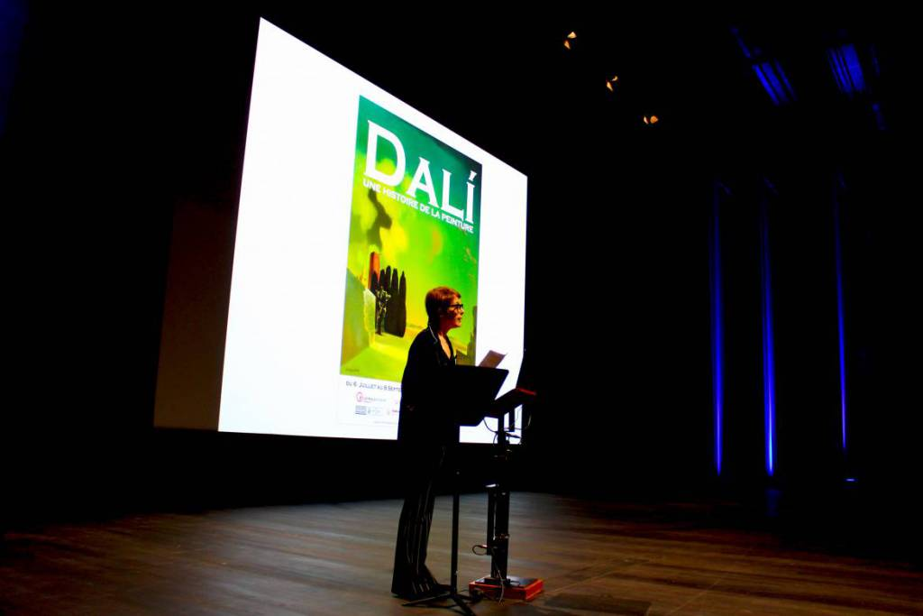 """Dalí, a History of Painting"" exhibition"