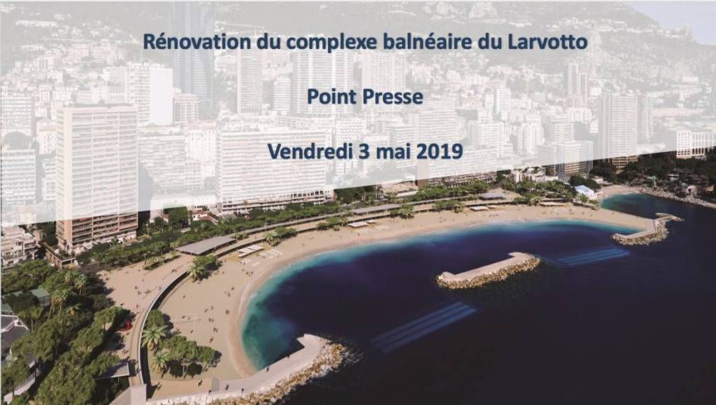 Larvotto Beach and its future environmentally friendly face