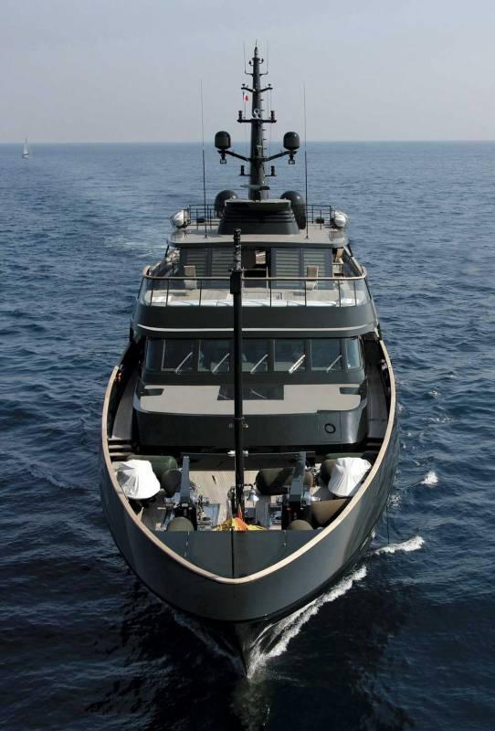 Dark green is the new black: inside Giorgio Armani's 60m yacht Main