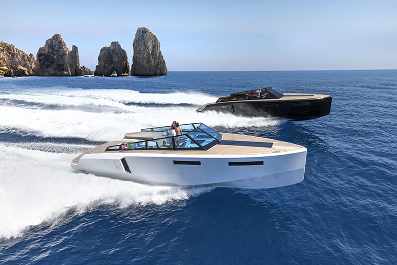 Evo Yachts: 13 meters of innovation and exclusive