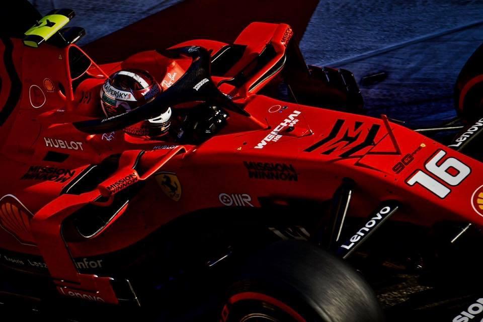 Grand Prix Ferrari Racing Ace Charles LeClerc Crashes in Baku