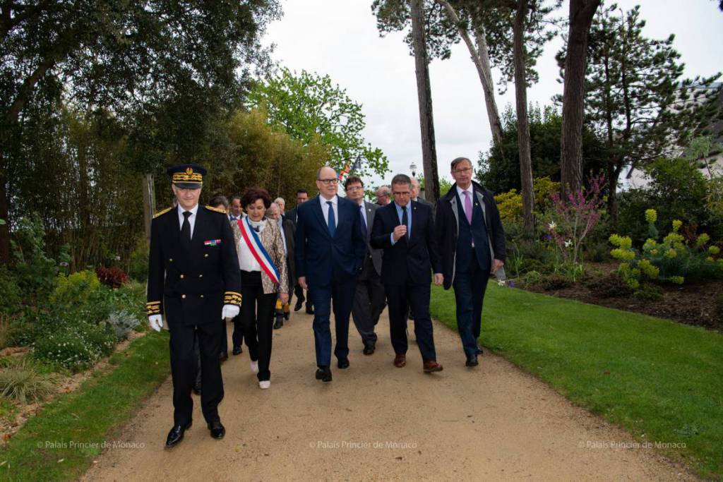Prince Albert's Busy Schedule Continues Uninterrupted