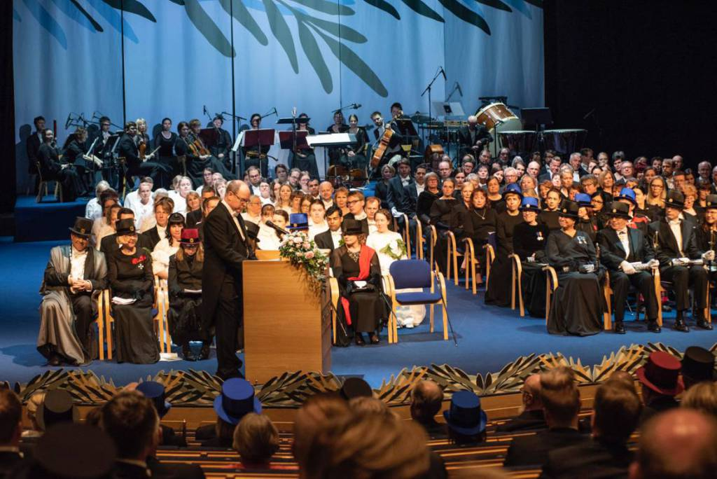 Prince Albert II receives Honorary Doctorate from Finnish University